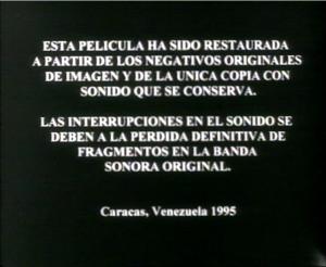 créditos cinemateca